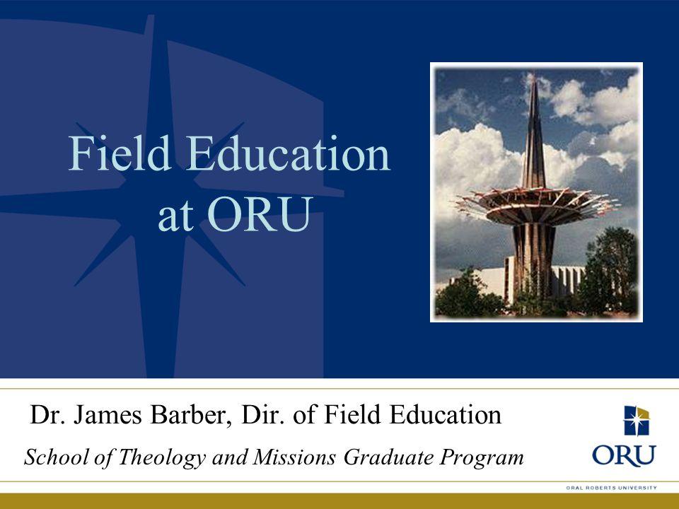 Dr. James Barber, Dir.