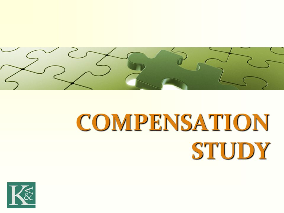 COMPENSATION STUDY