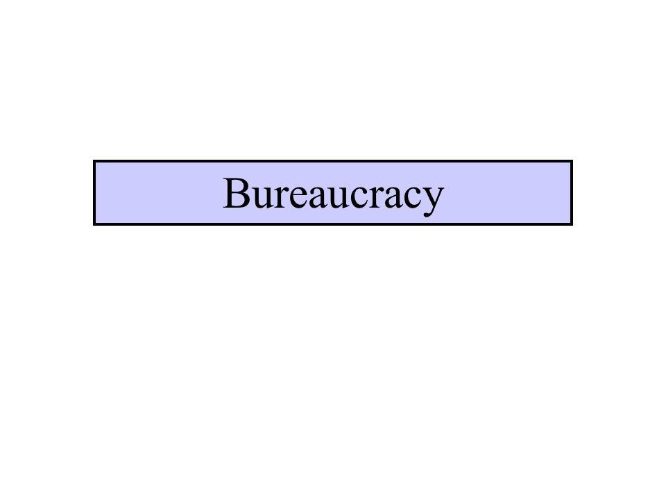 The Big Ideas Bureaucracy is inevitable.