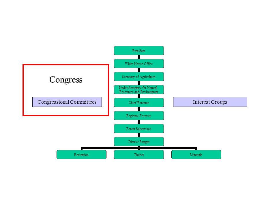 Congressional CommitteesInterest Groups Congress