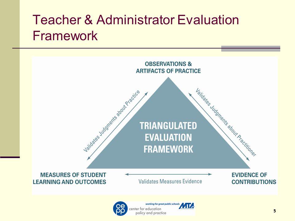 5 Teacher & Administrator Evaluation Framework