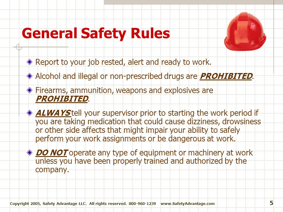 Copyright 2005, Safety Advantage LLC.All rights reserved.