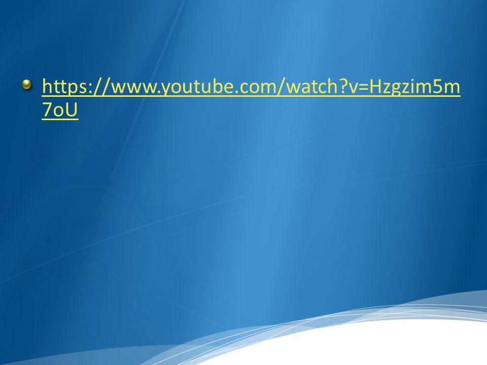 https://www.youtube.com/watch v=Hzgzim5m 7oU