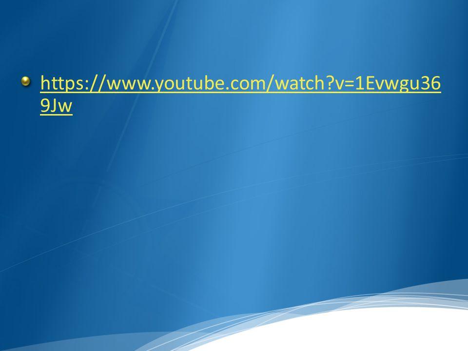 https://www.youtube.com/watch v=1Evwgu36 9Jw