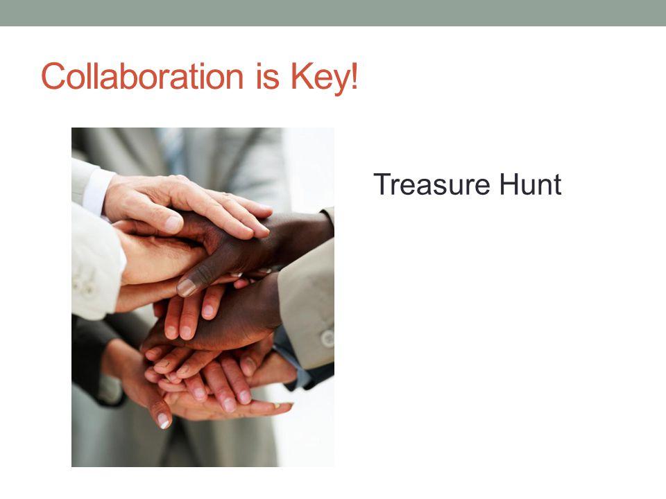 Collaboration is Key! Treasure Hunt