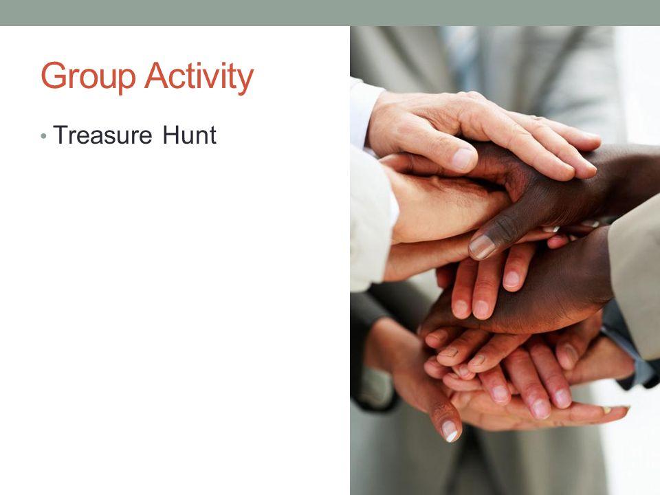 Group Activity Treasure Hunt