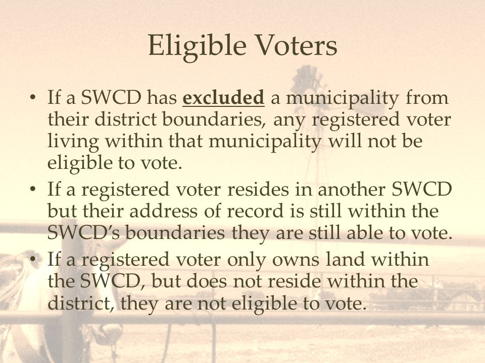 Retention of Election Results The General Government Administration for SWCDs (1.19.11.13 NMAC) requires the following: -Canvas of return sheets are permanent records, maintained by the SWCC.