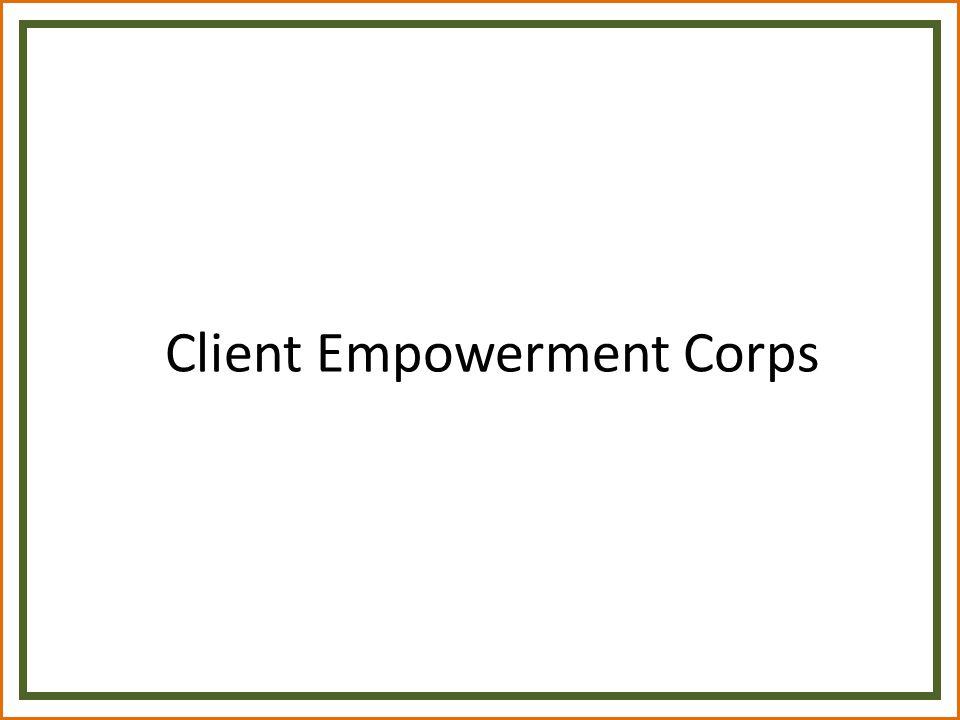Client Empowerment Corps