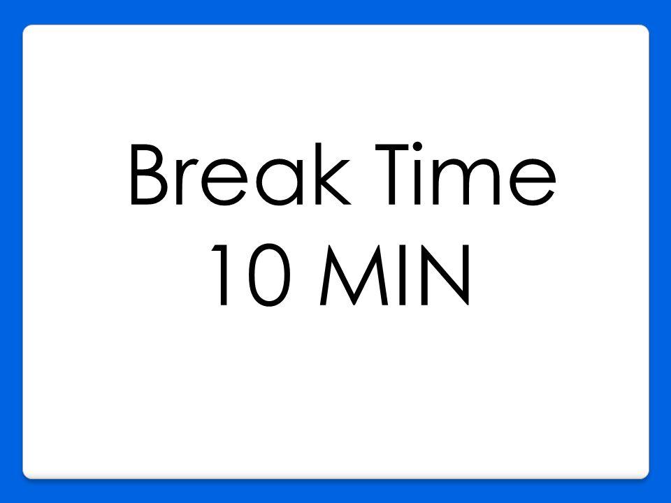 Break Time 10 MIN K
