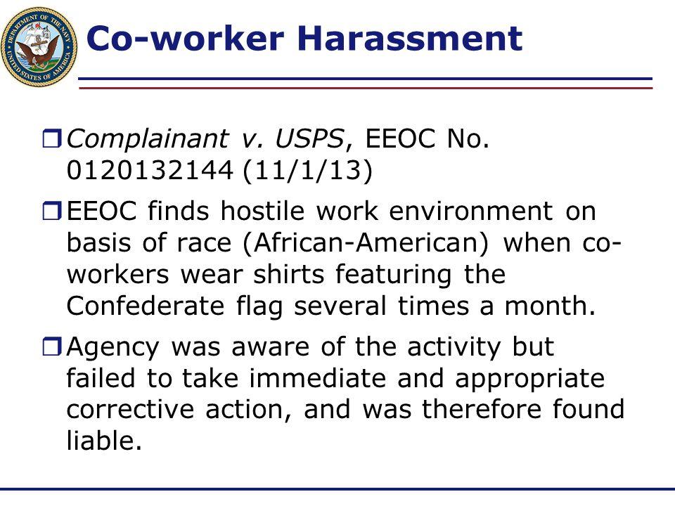 Reasonable Accommodation Denied  Blocher v.VA, EEOC No.