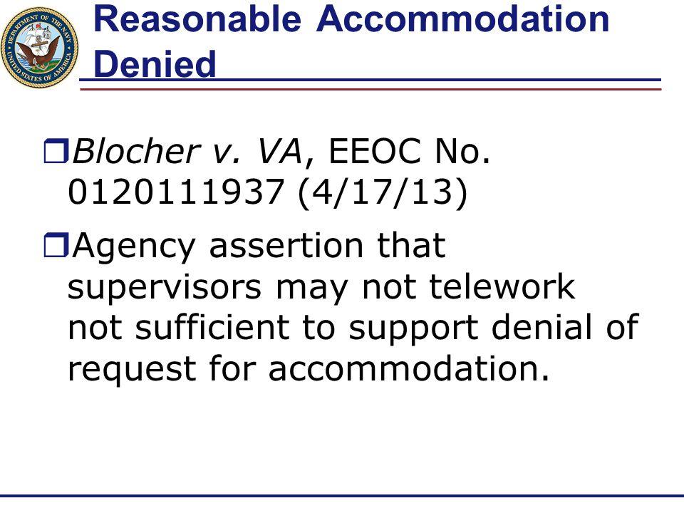 Yet More Per Se Retaliation  Beckham v.Department of the Treasury (U.S.