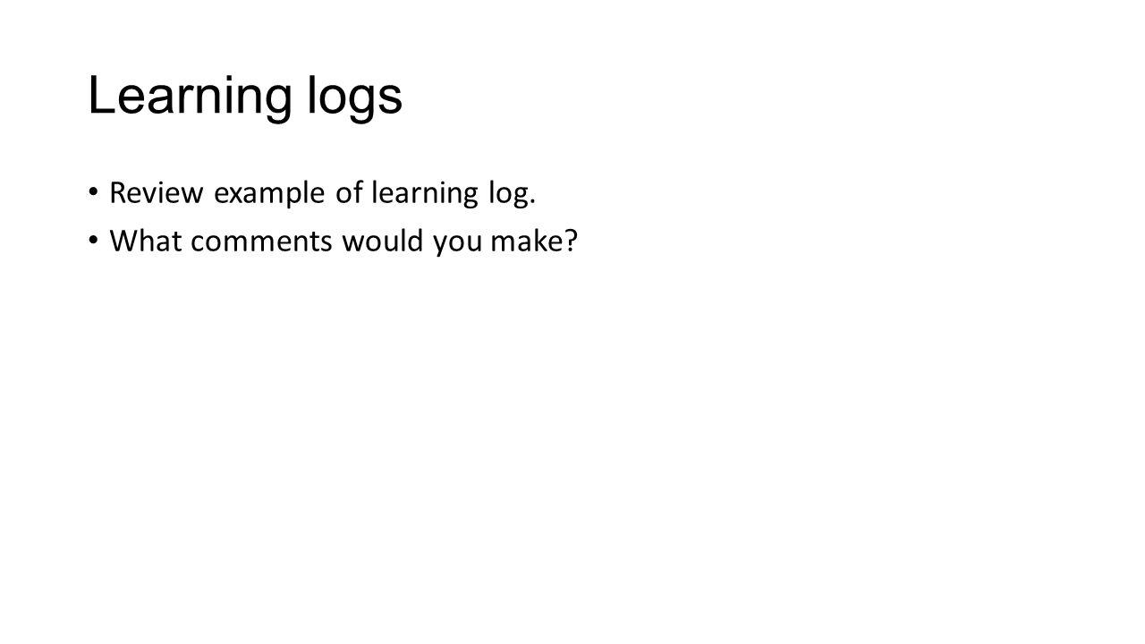 Feedback… Comments – informative / structured Websites / resource links
