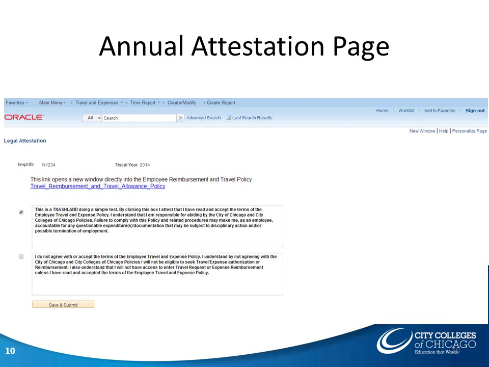 10 Annual Attestation Page 10