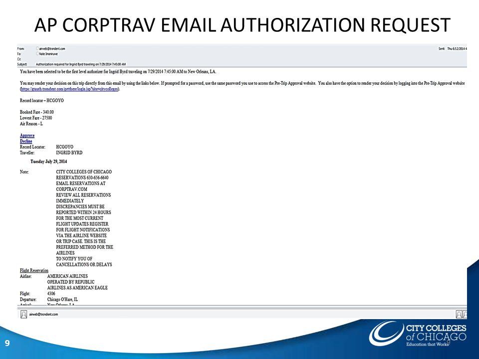 9 AP CORPTRAV EMAIL AUTHORIZATION REQUEST 9