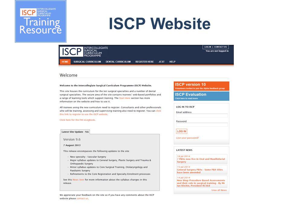 ISCP Website
