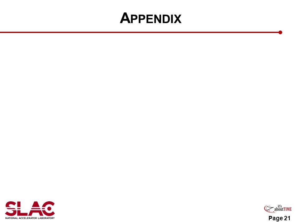 A PPENDIX Page 21