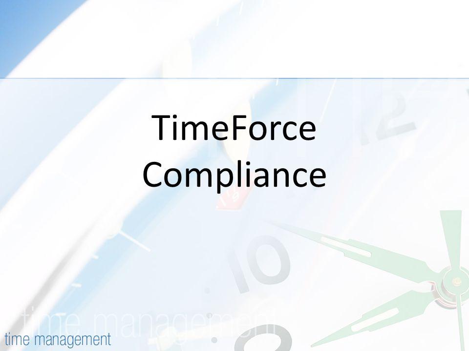 TimeForce Compliance