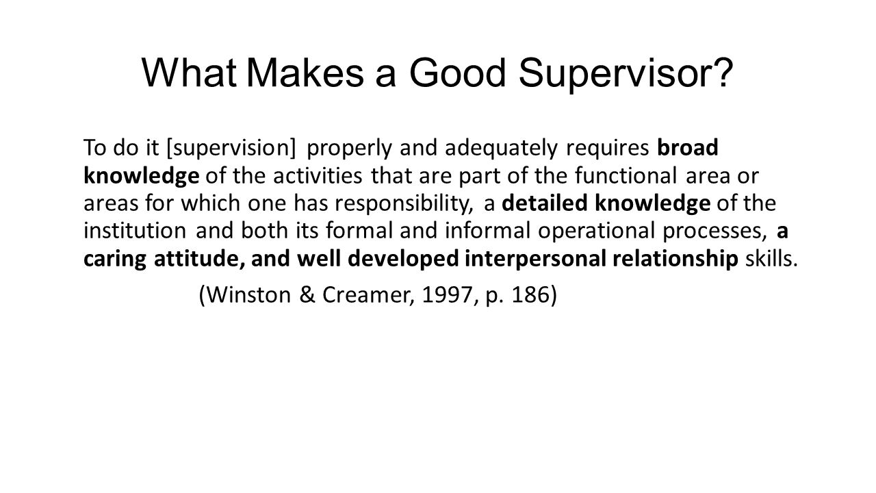 essay on a good supervisor 91 121 113 106 essay on a good supervisor
