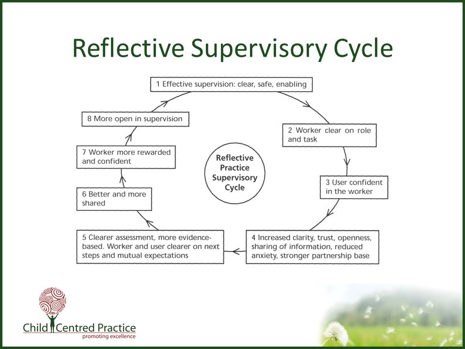 Reflective Supervisory Cycle