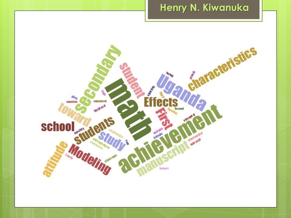 Henry N. Kiwanuka