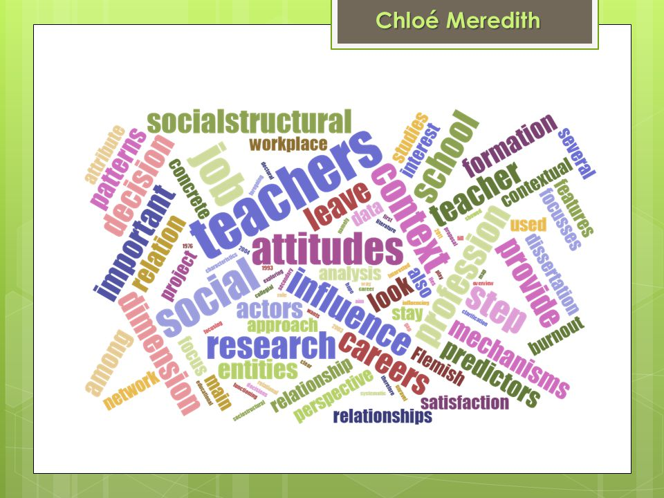 A cross-country study of school climate in relation with student reading achievement Supervisor : Prof.