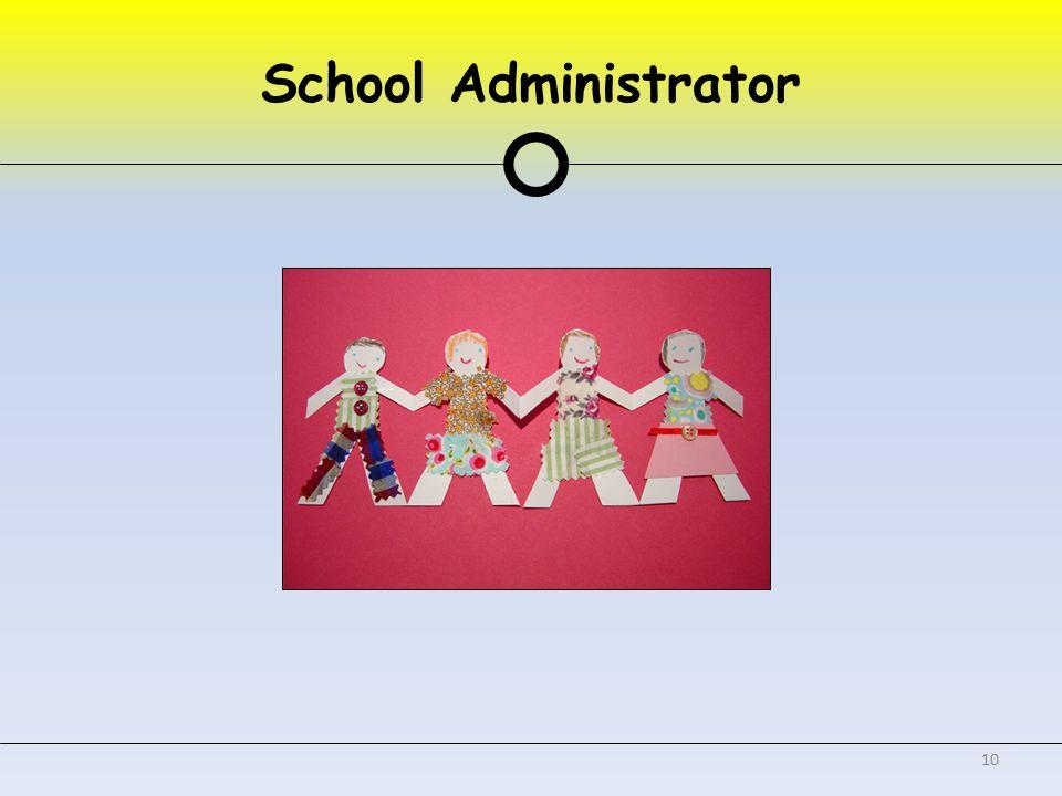 School Administrator 10