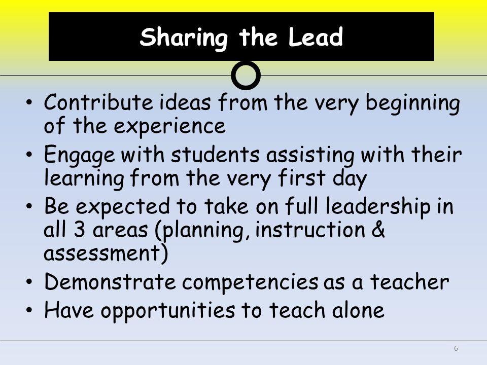 Co-Teaching Support Teacher Candidate University Supervisor Cooperating Teacher School Administrator 7