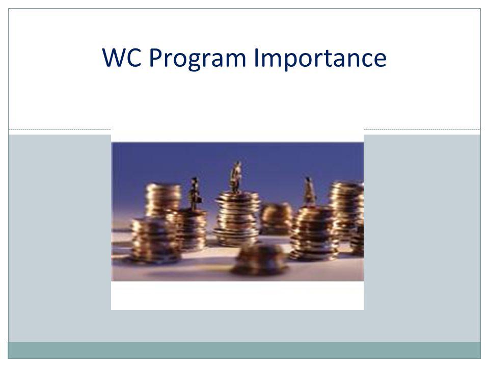 WC Program Importance