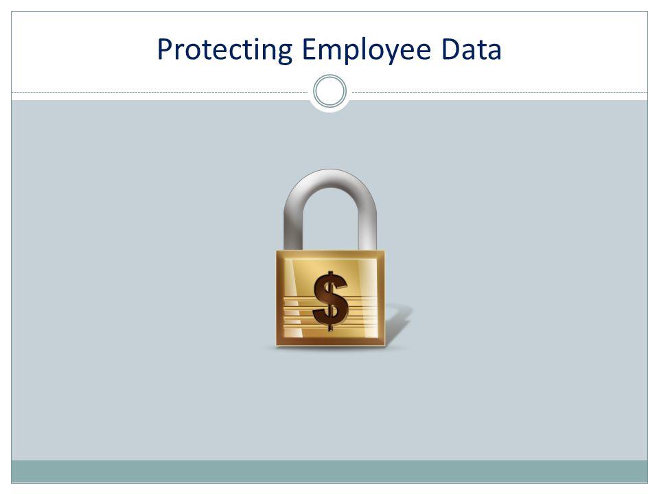 Protecting Employee Data