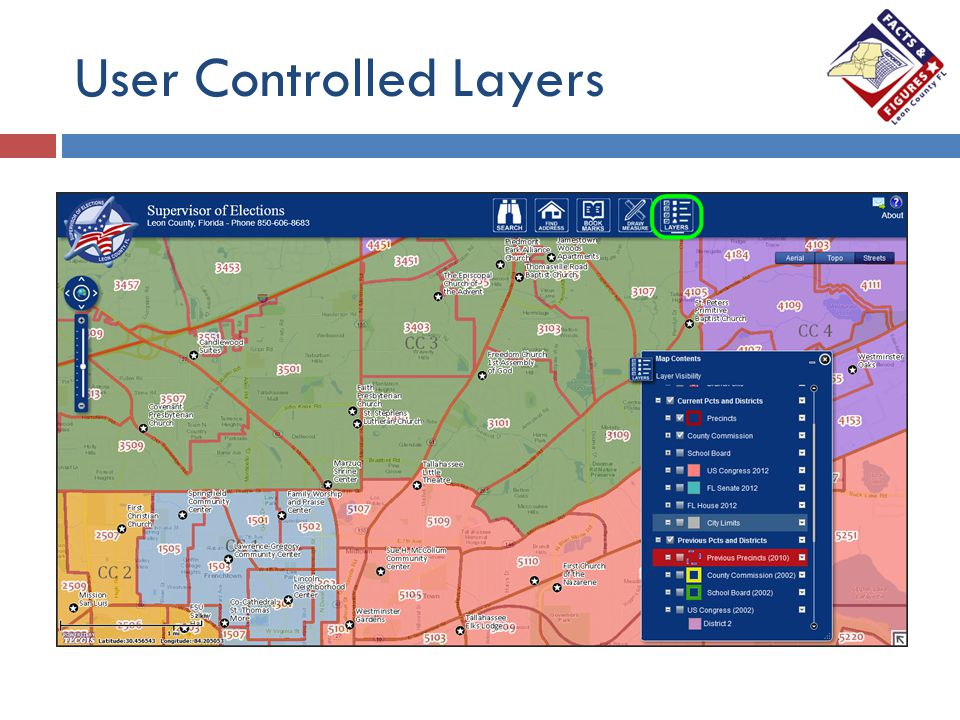 User Controlled Layers