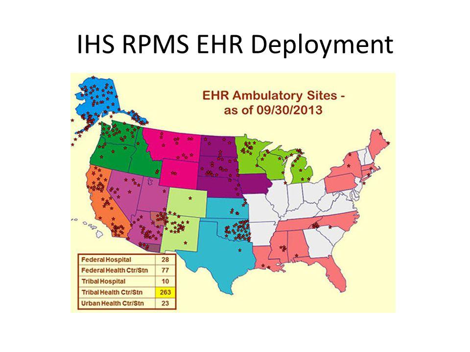 IHS RPMS EHR Deployment