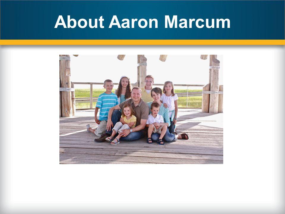 About Aaron Marcum