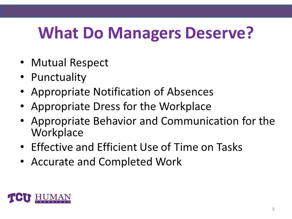 What Do Managers Deserve.