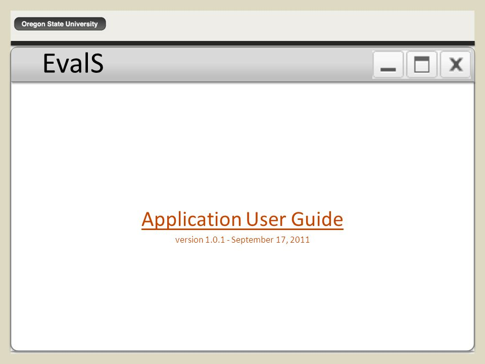 When logging into the myOSU Portal, you will generally start out at the Welcome page.