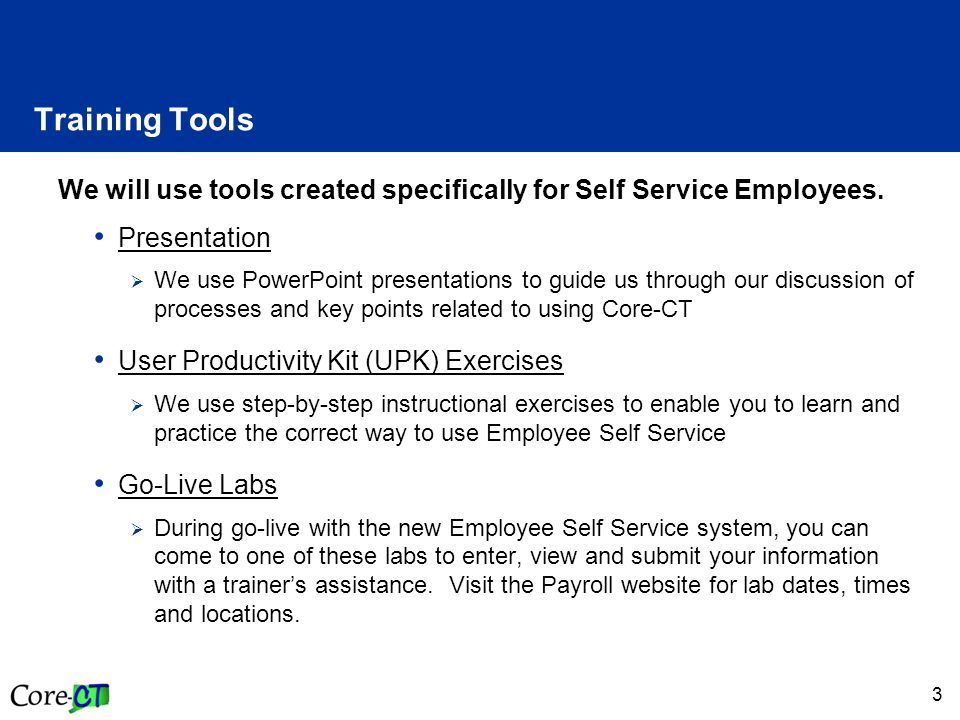 4 SCSU Training Links  Payroll Department Website  http://www.southernct.edu/offices/payroll/ http://www.southernct.edu/offices/payroll/  PowerPoint Presentations  Employee - Enter Time – Exception Reporter  Employee - Enter Time – Positive Pay Reporter  Employee - View Payable Time Summary  Employee - Manage Exceptions  Employee - Enter Comments  Employee - View Payable Time Detail  Employee - Run Attendance Report  Approver Training