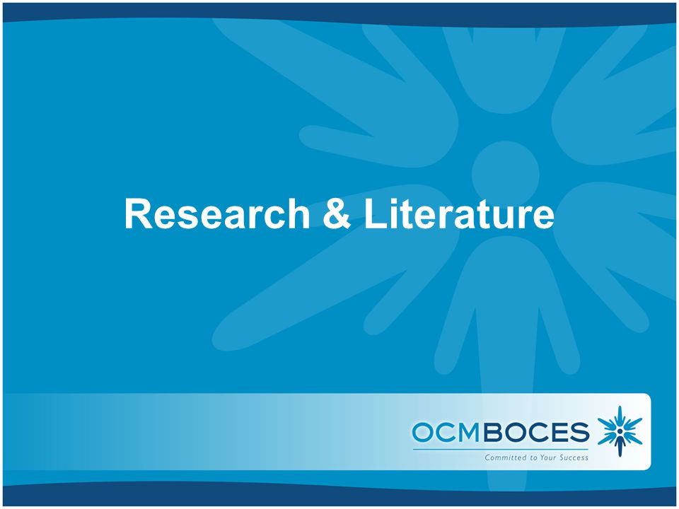 Research & Literature