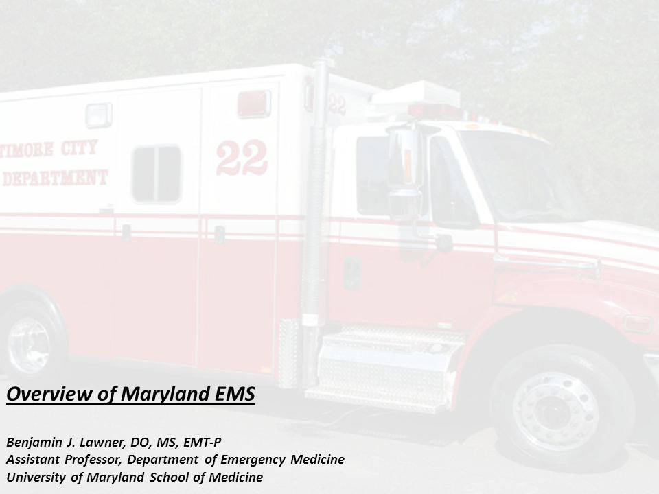 Emergency Medical Technician Delivers BLS or basic life support Additional skills available depending upon jurisdiction and population based needs In Western Maryland, EMT's can obtain and transmit 12 lead ECGs