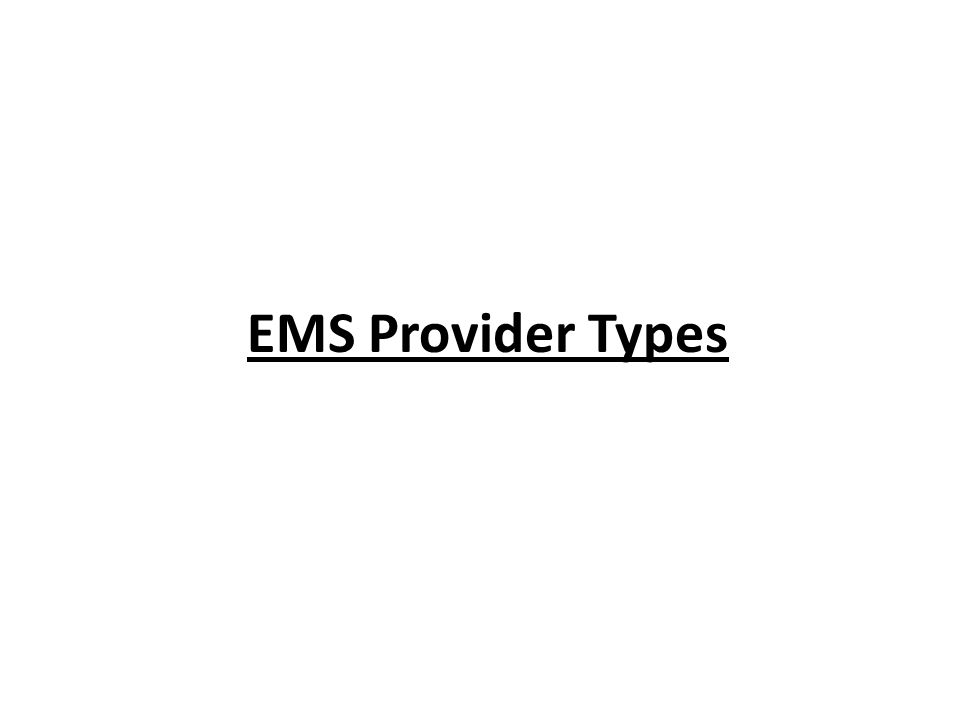 EMS Physicians Operational medical direction Administrative medical direction Online vs.