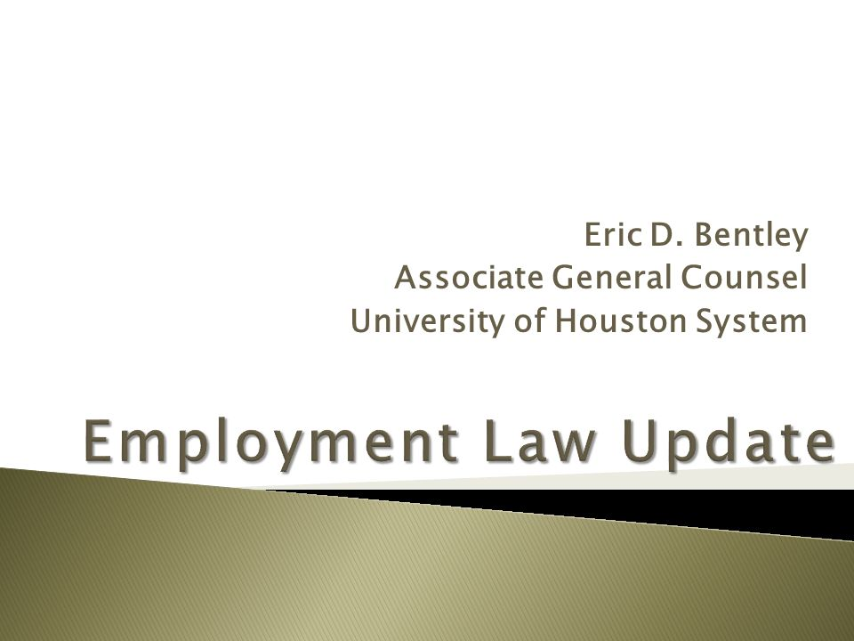  Univ.of Houston v. Barth, 403 S.W.3d 851 (Tex. 2013) Lawsuit was filed in 2001.