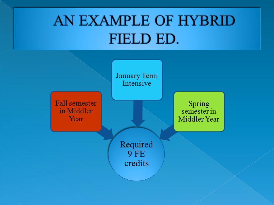 HYBRID FIELD ED.