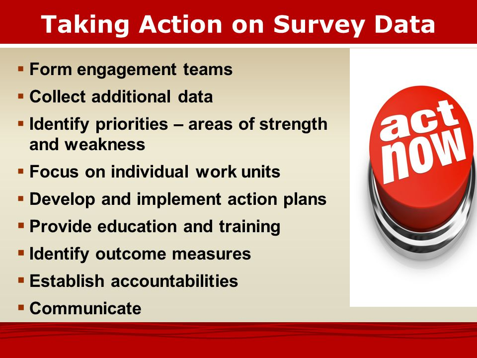 How Do We Achieve High Levels of Engagement?