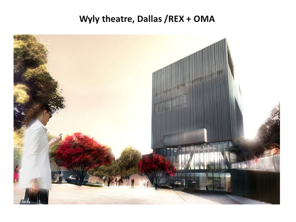 Wyly theatre, Dallas /REX + OMA
