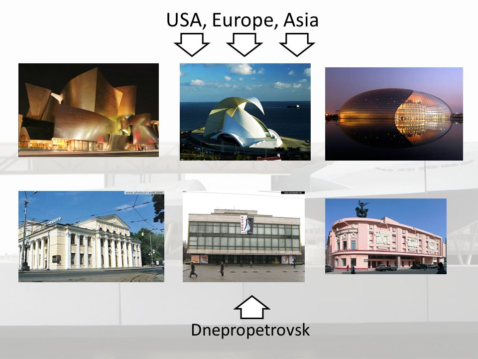 USA, Europe, Asia Dnepropetrovsk