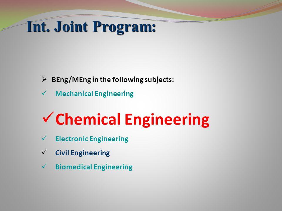 Laboratories: (continued) Educational Physical Chemistry Supervisor : Hamid Modarress Process Control Supervisor : Manouchehr Nikazar Unit Operations Supervisor : Bahram Naseinejad Organic Chemistry Supervisor: Aliasghar Roghanizad