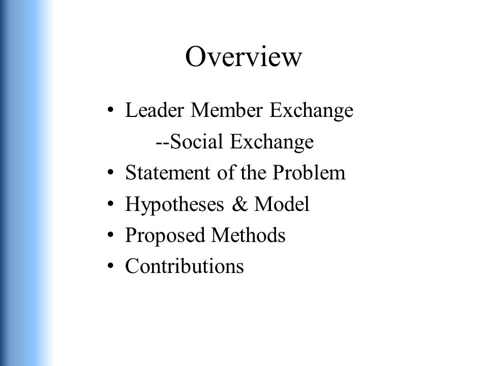 Measures Leader Member Exchange and LLX (Bernerth et al., 2007- adopted)—supervisor rated Span of Control (Hill & Hoskisson, 1987)—supervisor rated Social Support (Abbey et al., 1985)—employee rated OCBs (Rupp & Cropanzano, 2002)—supervisor rated OBSE (Pierce et al., 1989)—supervisor rated MSE (Robertson & Sadri, 1993)—supervisor rated Subordinate Satisfaction (Spector, 1985)—supervisor rated