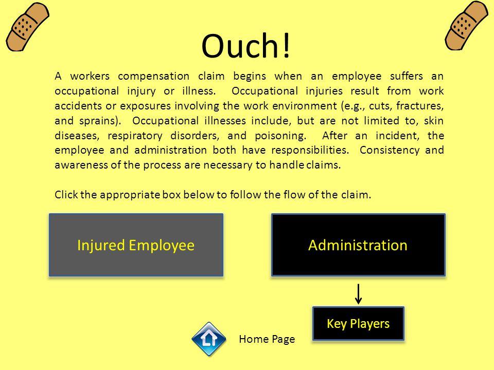 Injured Employee ………………………………………………………………………………..GHC (248)370-2341 ………………………………………….