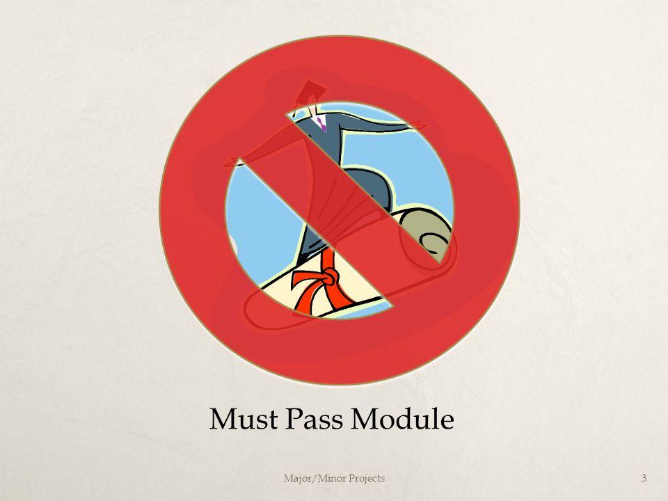 3 Must Pass Module