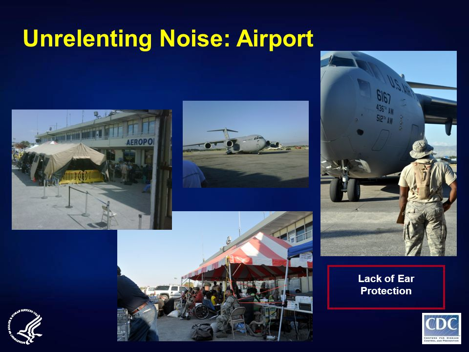 Unrelenting Noise: Airport Lack of Ear Protection