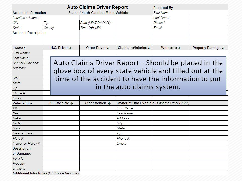 14 At this time you begin entering loss data in accident information section.
