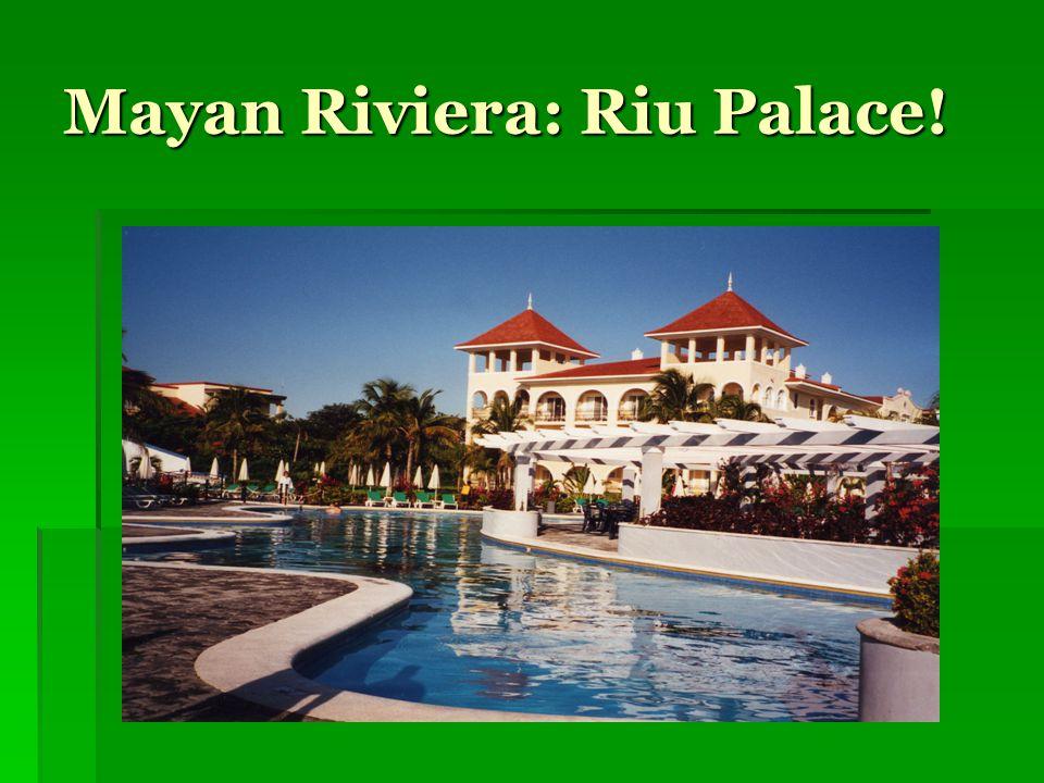 Mayan Riviera: Riu Palace!
